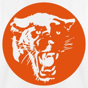 Panther orange (hinten) - Teenager T-Shirt