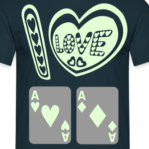 I LOVE POCKET ACES T-Shirts - T-shirt Homme