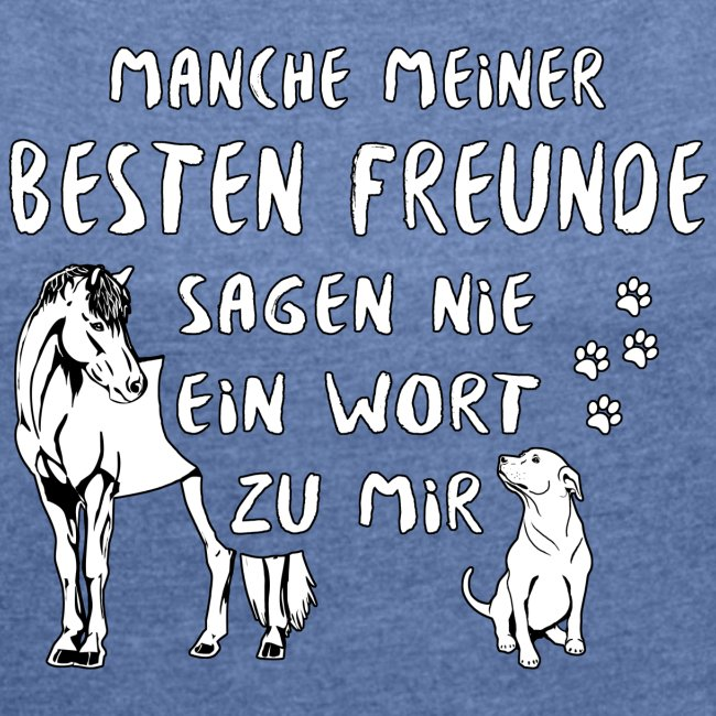 Beste Freunde - Shirt locker