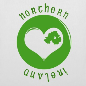 White northern_ireland_heart Bags  - Tote Bag