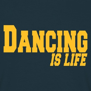 Navy dancing is life T-shirts - Mannen T-shirt