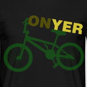 Black On Yer Bike Men's T-Shirts - Men's T-Shirt