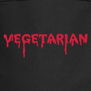 Black vegetarian vampire  Aprons - Cooking Apron