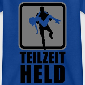 Navy Teilzeit-Held Kinder T-Shirts - Teenager T-Shirt