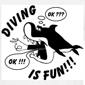 Diving is Fun - Männer T-Shirt