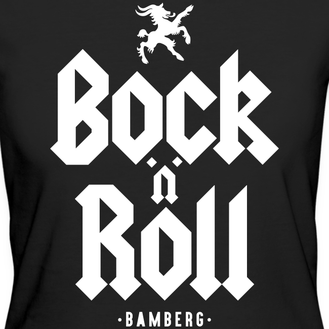 The BnR - Damen BIO T-Shirt - 100% Baumwolle - Rock 'n' Roll Bamberg - #BNRBBG