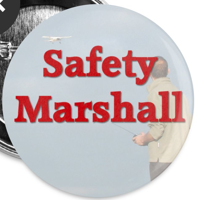 Radio Control Safety Marshall Badge