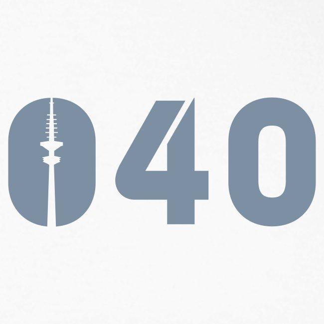 040 LONGSLEEVE SILBER-MATT