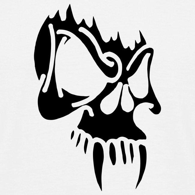 Evil Skull (black)