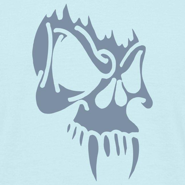 Evil Skull (silver)