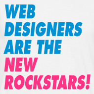 Ontwerp ~ Web Designers Are The New Rockstars!