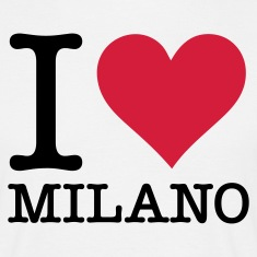 Wit I Love Milano (2c, NEU) T-shirts