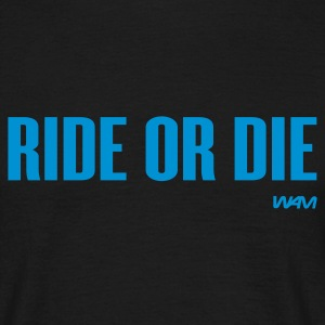 Nero ride or die by wam T-shirt - Maglietta da uomo