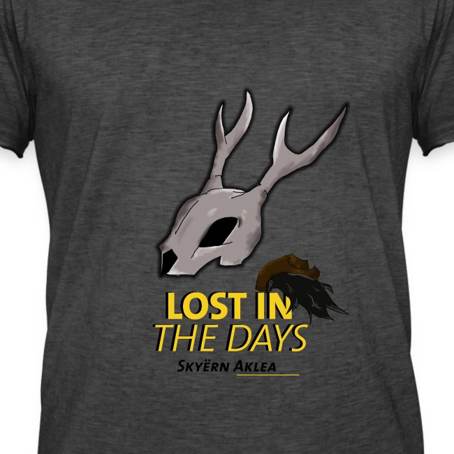 T-SHIRT MAN LOST IN THE DAYS