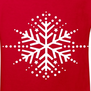 Red snow flake Kids' Shirts - Kids' Organic T-shirt