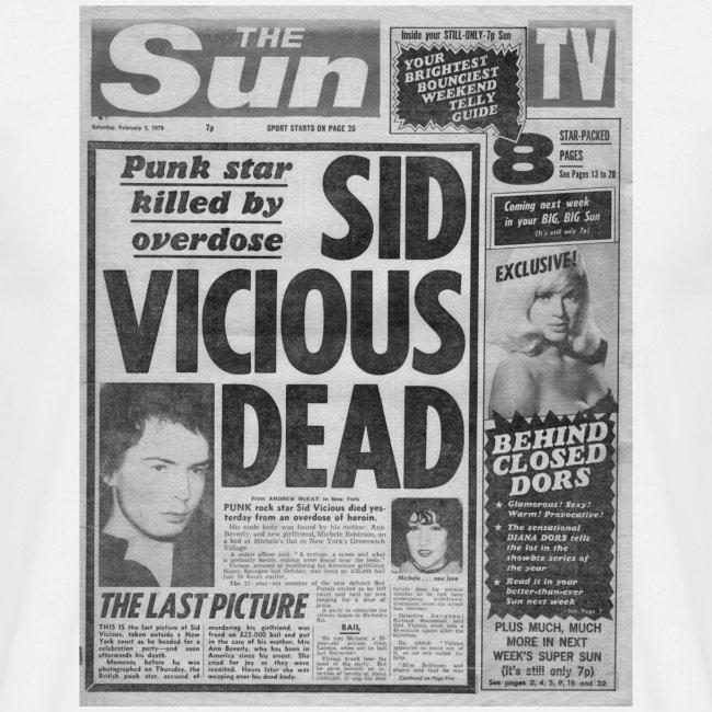 Sid Vicious Dead