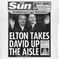 Design ~ Elton Takes David Up The Aisle