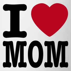 Wit i love mom NL Mokken - Mok