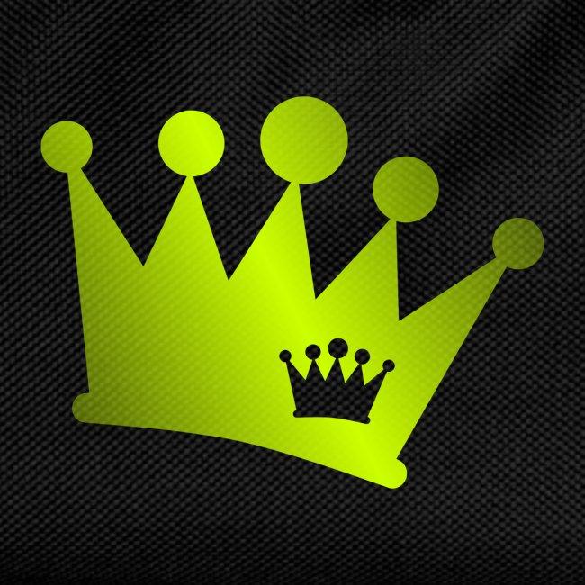Doppel Krone neon grün