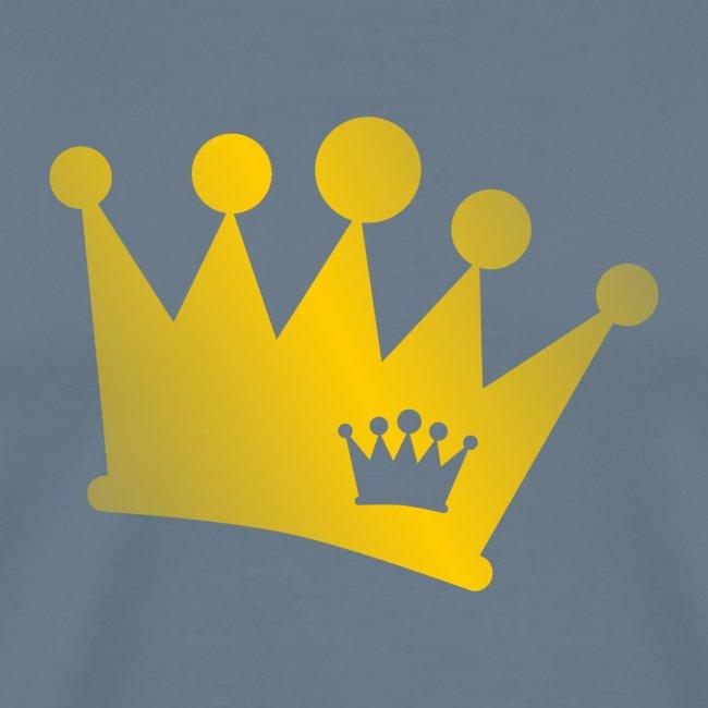 Doppel Krone gold