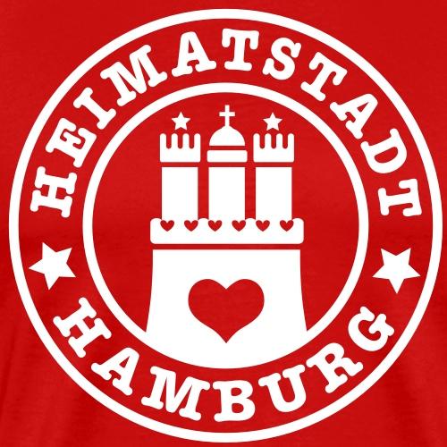 Hamburg Heimatstadt Wappen 1c Herz