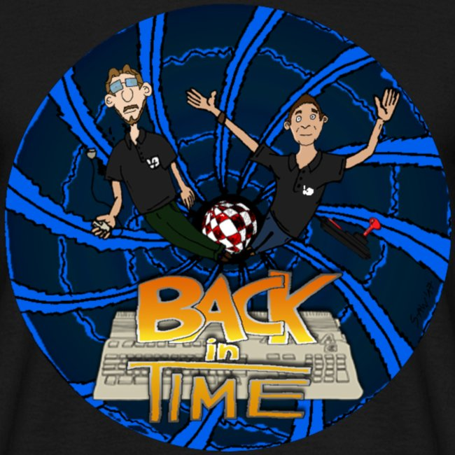 "T-Shirt ""Back in Time"""