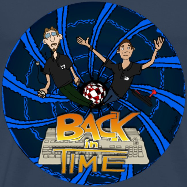 "T-Shirt ""Back in Time"" (bis 5XL)"