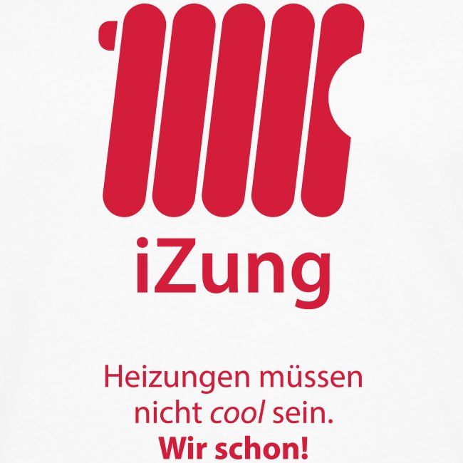 iZung | Langarm-Shirt- Flexdruck