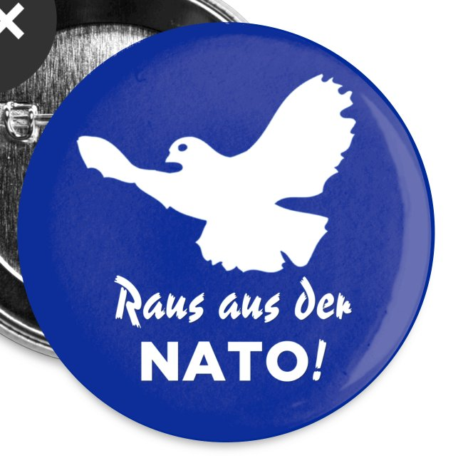 Friedenstaube Button
