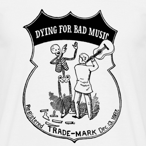 Dying For Bad Music Logo