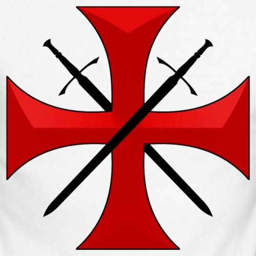 Templar cross and swords
