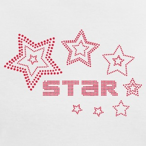 Blanc/rouge fashion_star_3 T-shirts - T-shirt contraste Femme
