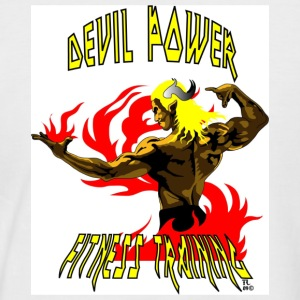 DEVIL POWER FITNESS TRAINING - T-shirt baseball manches courtes Homme