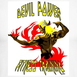 FITNESS DEVIL POWER - T-shirt baseball manches longues Homme