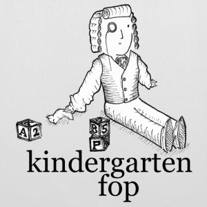 kindergarten fop - canvas bag - Tote Bag
