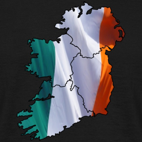 Ireland flag mapped