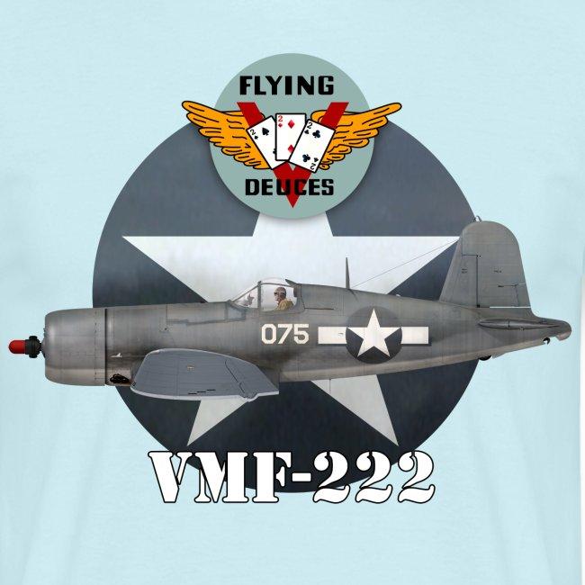 "F4U Corsair VMF-222 ""Flying Deuces"""