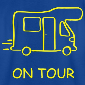 Wohnmobil on Tour - mit Vorname - Teenager T-Shirt