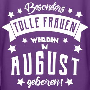 "Geburtstag T-Shirts mit ""Geburtstag im August Frau"""