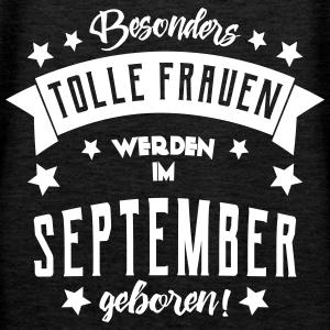 "Geburtstag T-Shirts mit ""Geburtstag im September Frau"""