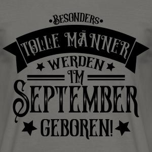 """Geburtstag T-Shirts mit """"Männer im September geboren Geburtstag"""""""