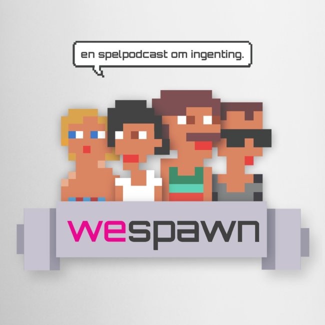 WeSpawn Mugg - Vit