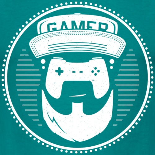 T-Shirt-Design-gamer-whit
