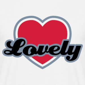 Weiß Lovely © T-Shirts - Men's T-Shirt