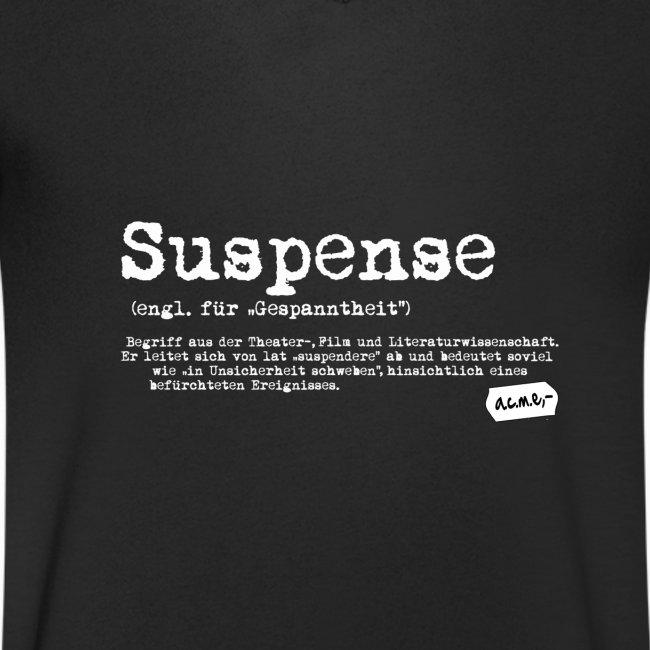 suspense V-shirt