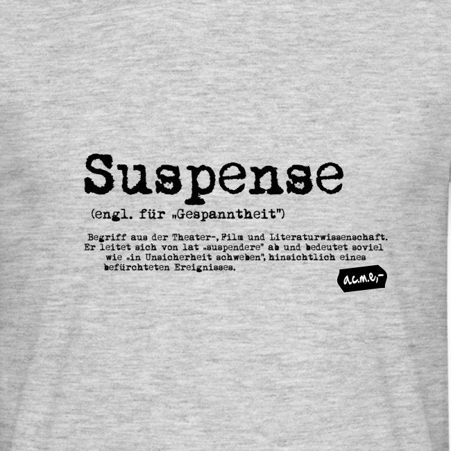 Suspense Shirt grau