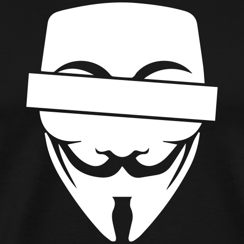 Anonymous mit Balken