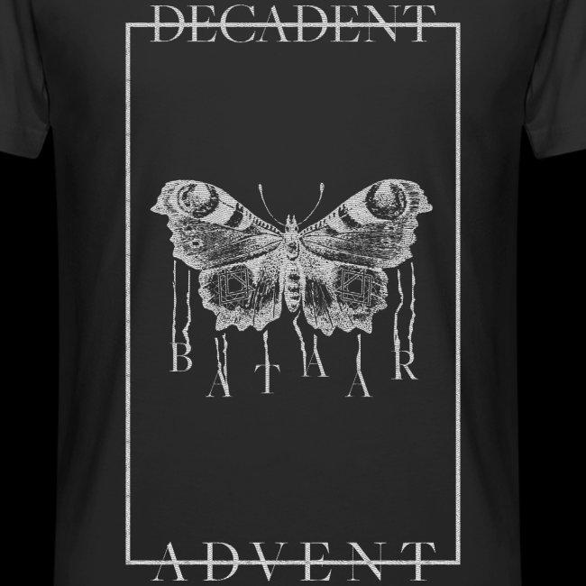 """""""DECADENT MOTH"""" Long T-shirt"""