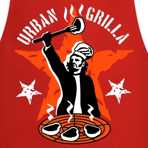 Urban Grilla, barbecue chef / cook - Cooking Apron