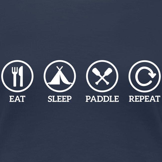 eat sleep paddle